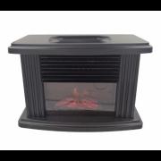Портативный камин Flame Heater (Черный)