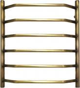Полотенцесушитель водяной Domoterm Лаура 60x50 (Лаура П6 500*600 АБР) античная бронза