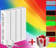 Rifar SUPReMO Ventil 500 - 8 секции Биметаллический радиатор нижнее правое подключение