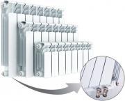 Радиатор отопления биметаллический Rifar Base Ventil 350 х10