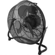 Вентилятор напольный 60 Вт 40 см, металл, с осциляцией, черный