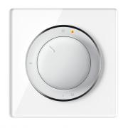 Комплект: Терморегулятор OneKeyElectro ОКЕ-10 + рамка стеклянная Белый