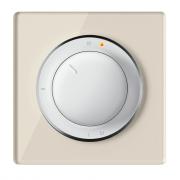 Комплект: Терморегулятор OneKeyElectro ОКЕ-10 + рамка стеклянная Бежевый
