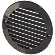 Решетка наружная вентиляционная с фланцем (150 мм, цвет серый) era 12ркн 87-654