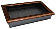 Каминная вентиляционная решетка Enbra прямоугольная оскар-медная 17х30 см