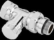 Запорный клапан RLV-CX, DN 15, прямой, хромированный