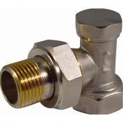 Запорный клапан для радиатора стм угловой 3/4 термо caravl34
