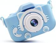 Детский фотоаппарат Котёнок/Кошечка (Kitty) kids camera, голубой