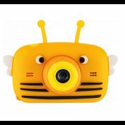 Детская цифровая камера GSMIN Fun Camera View с селфи камерой цвет оранжевый GSMIN Fun Camera View
