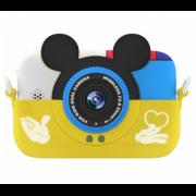 Детская цифровая камера GSMIN Fun Camera Memory с играми (Желтый) GSMIN Fun Camera Memory