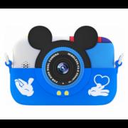 Детская цифровая камера GSMIN Fun Camera Memory с играми (Синий) GSMIN Fun Camera Memory