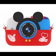 Детская цифровая камера GSMIN Fun Camera Memory с играми (Красный) GSMIN Fun Camera Memory