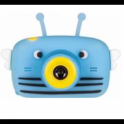 Детская цифровая камера GSMIN Fun Camera View с селфи камерой цвет голубой GSMIN Fun Camera View