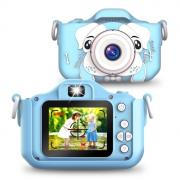 "KoiKo Детский цифровой фотоаппарат ""Собачка"" (в комплекте 8GB памяти), синий"