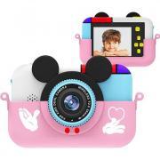 Детский фотоаппарат - камера Mickey (Розовый)