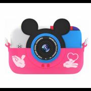 Детская цифровая камера GSMIN Fun Camera Memory с играми (Розовый) GSMIN Fun Camera Memory