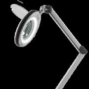 Лампа-лупа косметологическая профессиональная АтисМед на струбцине