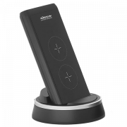 Внешний аккумулятор с беспроводной зарядкой Nillkin PowerMount NKA08 10000 мАч Серый