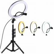 Кольцевая лампа со штативом Ring Fill Light с пультом ДУ (32 см)