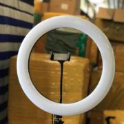 Светодиодная кольцевая лампа 36 см (Белая)