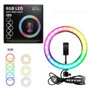RGB Кольцевая лампа MJ33 33 см