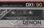 Аудиокассета новая запечатанная Denon DX1 90