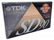 TDK SD90 High Bias Type II - аудиокассета новая запечатанная
