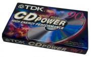 TDK CD Power 90 High Bias Slim Type II - аудиокассета новая запечатанная
