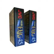 Видеокассета JVC VHS-C 45 минут EHG Hi-Fi EC-45