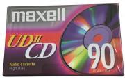 Maxell UDII 90 High Bias Type II - аудиокассета новая запечатанная