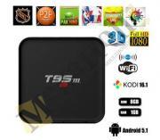 Андроид приставка smarttv ott tv box sunvell t95m 4k