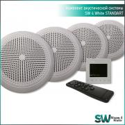Комплект акустической системы SW 4 White Standart (Встраиваемый)
