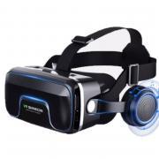 VR Shinecon 10,0 стерео вр видео виар шлем 3D 3 D очки виртуальной реальности для iPhone Android VR смартфона умные смарт игр смартфонов дополненной телефона комплект видеоочки с экраном контролерами стекло дополненная