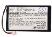 Аккумулятор Cameron Sino для пульта RTI T1 T1B T2 T2+ TheaterTouch CS-RTB011RC