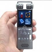 Диктофон профессиональный, конденсаторный микрофон