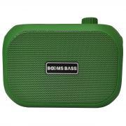 Беспроводная акустическая колонка Booms BAss L15 зеленый
