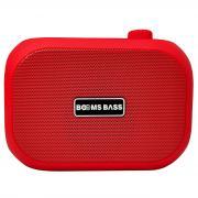 Беспроводная колонка Booms Bass L15 красный