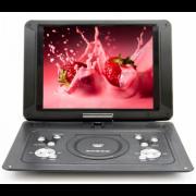 Портативный DVD плеер 15 Eplutus EP-1403T c цифровым тюнером DVB-T2 (Черный)
