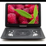 Портативный DVD плеер 16 Eplutus EP-1516T c цифровым тюнером DVB-T2 (Черный)