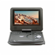 Портативный DVD плеер 7,5 Eplutus LS-718T с TV-тюнером (Черный)