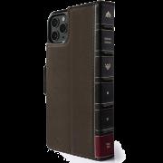 Чехол-книжка Twelve South BookBook Vol 2 для iPhone 11 Коричневый