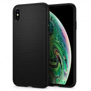 Чехол Spigen для iPhone XS Max Liquid Air Black 065CS25126