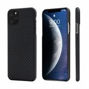 Чехол Pitaka Magez Case для iPhone 11 Pro Max (серо-черный)