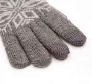 Перчатки для сенсорных устройств Xiaomi Mi Wool Touch Gloves Gray