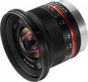 Объектив Samyang MF 12mm f/2.0 ED AS NCS CS Fuji X (черный)