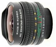 Объектив Зенит МС Зенитар-Н Nikon 16 mm F/2.8 Fisheye