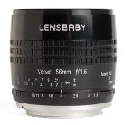 Объектив Lensbaby Velvet 56 mm F/1.6 1:2 Macro Black for Sony E 83050 / LBV56BX