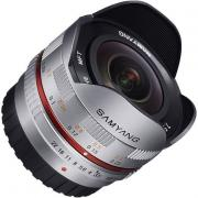 Объектив Samyang MF 7.5 mm F/3.5 Fish-eye UMC for Micro 4/3 Silver