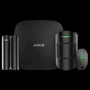 Стартовый комплект системы безопасности с фотоверификацией тревог и поддержкой LTE Ajax StarterKit Cam Plus (black)