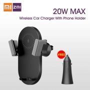 Автомобильный держатель с функцией беcпроводной зарядки Xiaomi ZMI Wireless Charging Car Holder + АЗУ